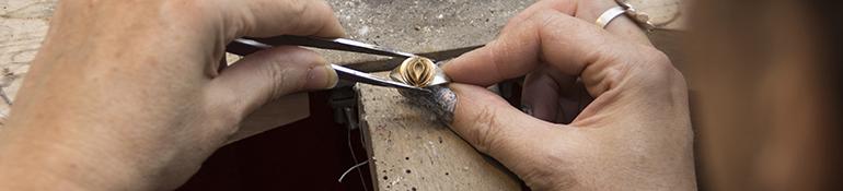 Handgefertige Kette aus der Goldschmiede Epple-Franke